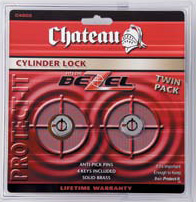Dual Keyed Alike Cylinder Locks