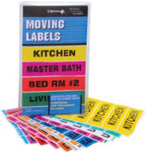 Household Moving Labels